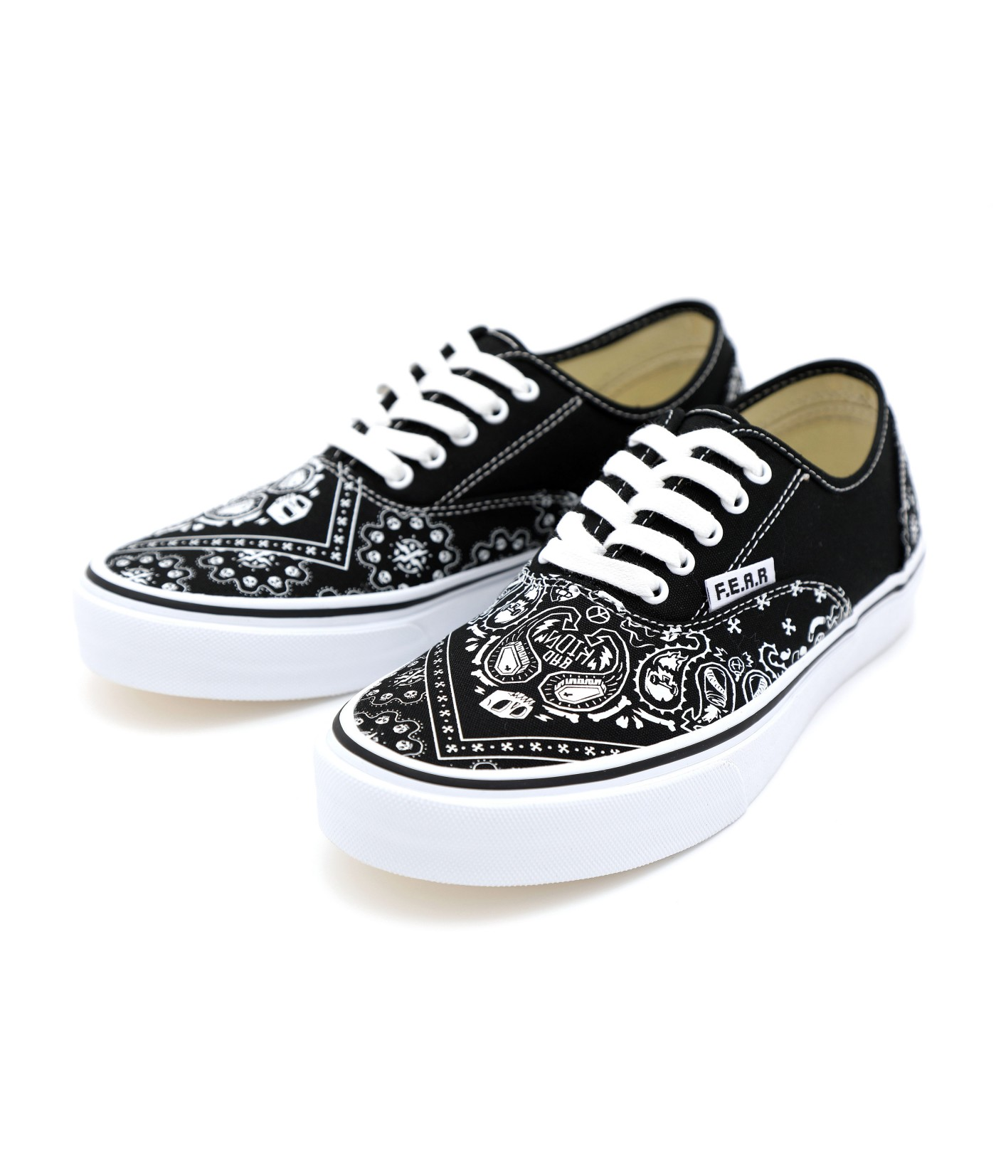 F.E.A.R BAD KIDS PAISLEY canvas shoes