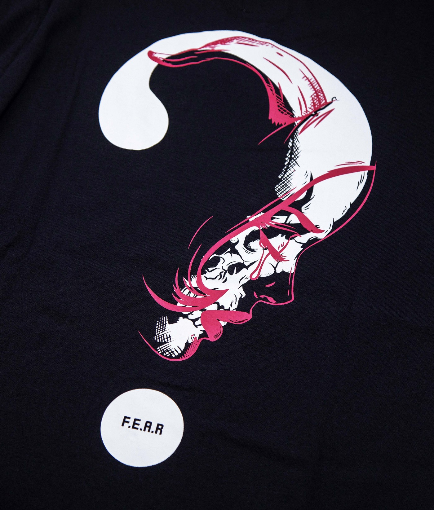 FEAR SAD SKULL TEE (BLACK)