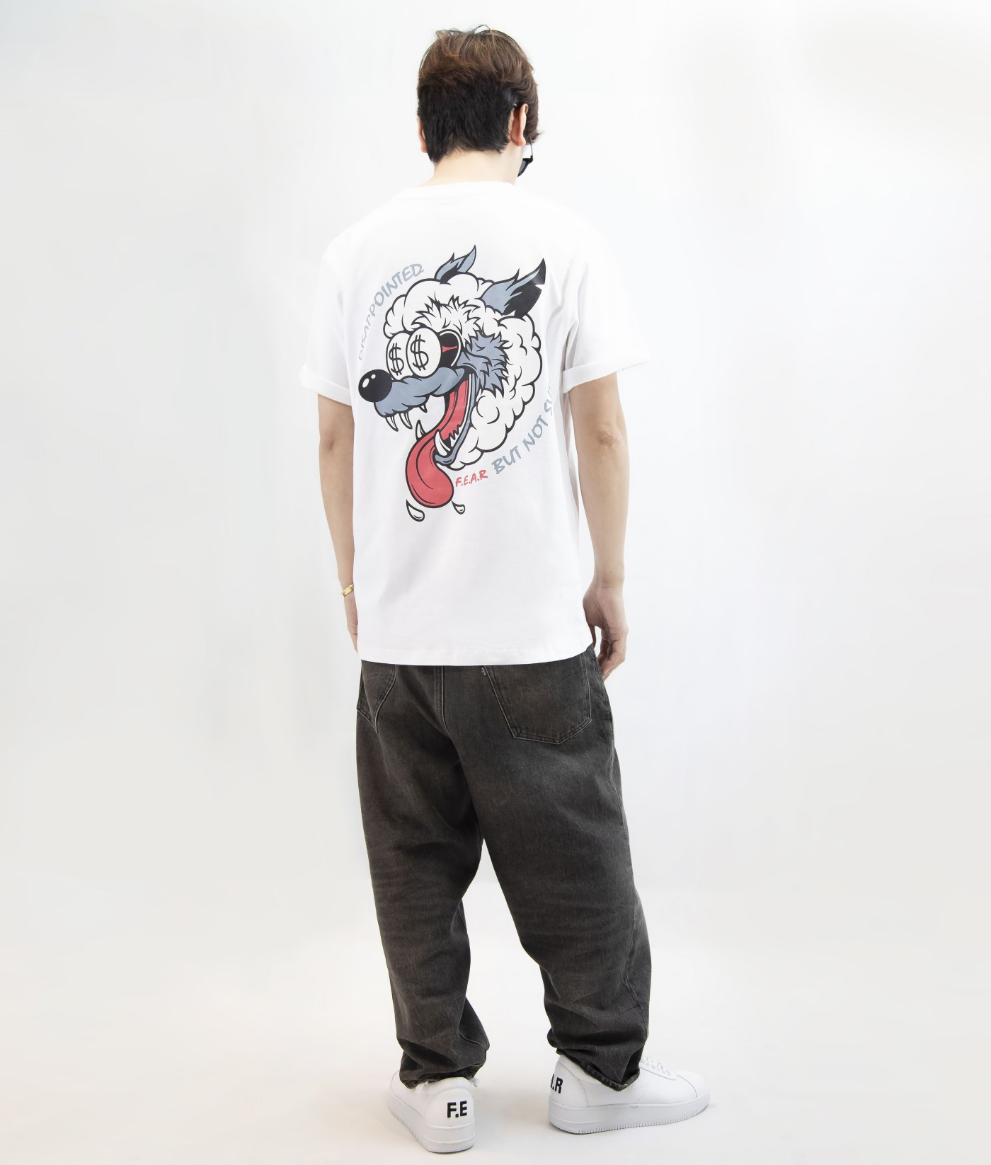 FEAR SHEEP WOLF TEE (WHITE)