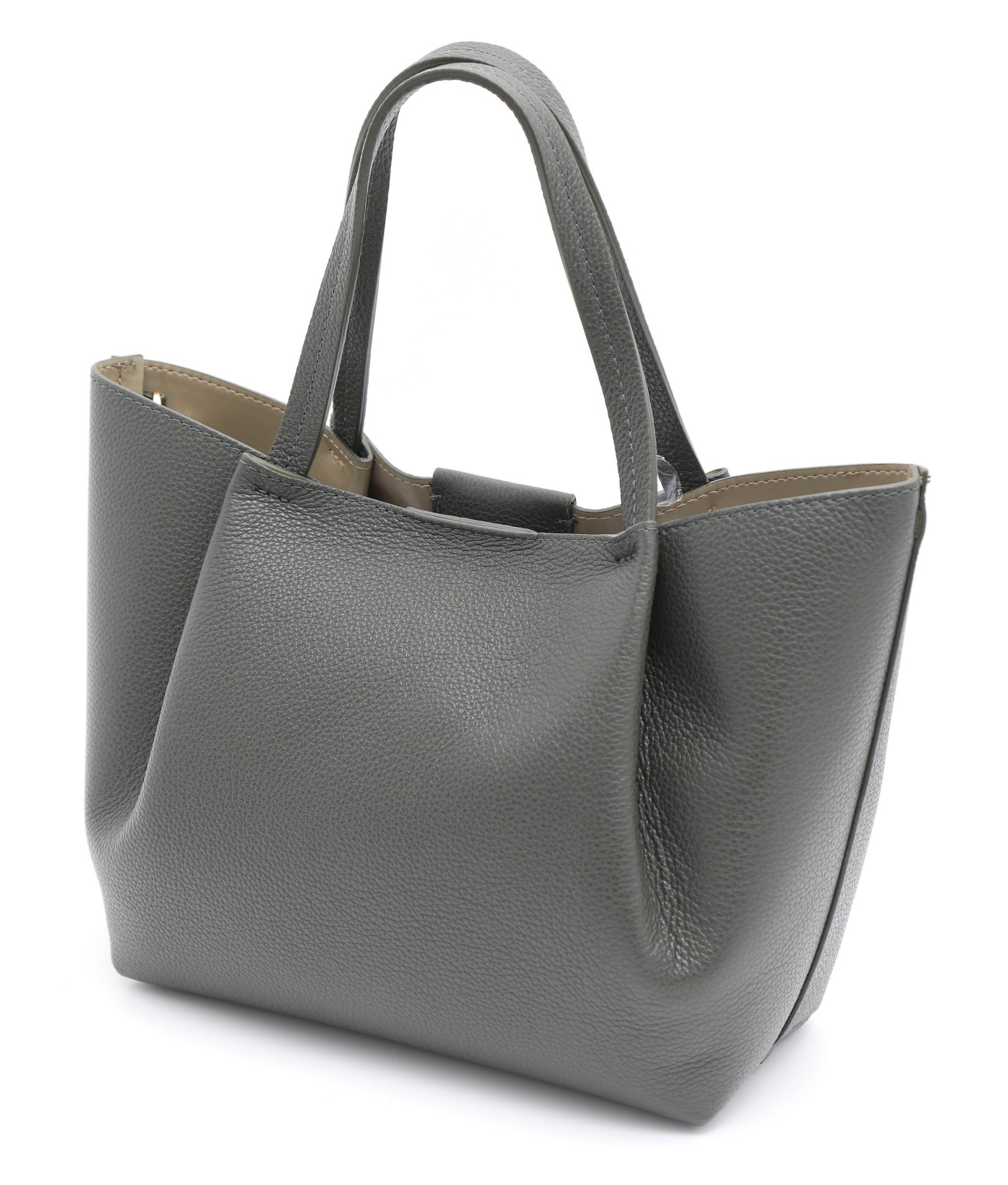 GOIAS SIGNATURE SMALL TOTE (FOREST GREEN)