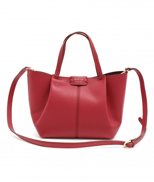 GOIAS SIGNATURE SMALL TOTE (RED)