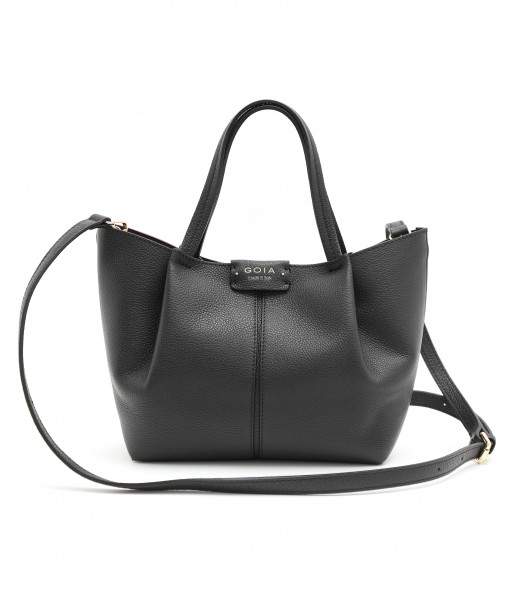 GOIAS SIGNATURE SMALL TOTE (BLACK)