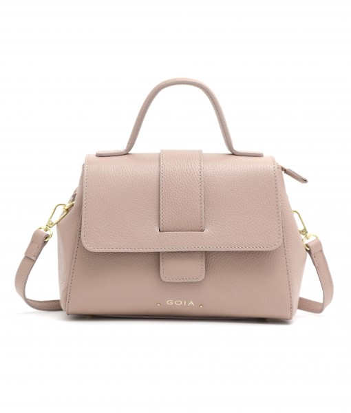 GOIAS TOP HANDLE FLAP BAG (PINK)