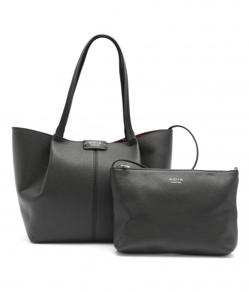 GOIAS SIGNATURE LARGE TOTE (BLACK)