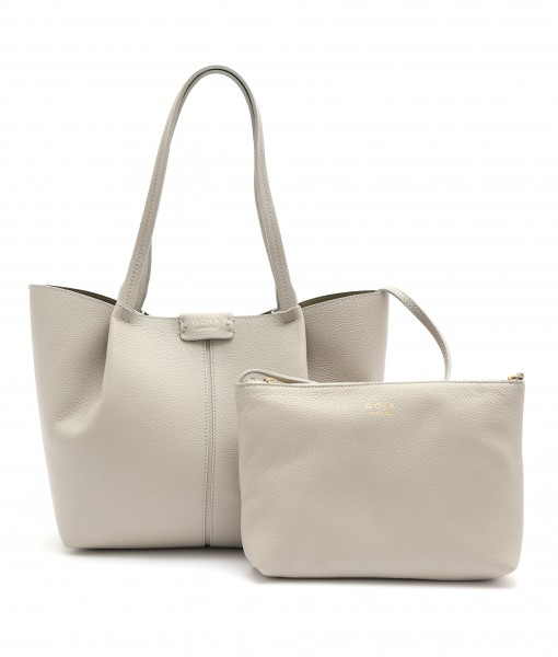 GOIAS SIGNATURE LARGE TOTE (GREY)