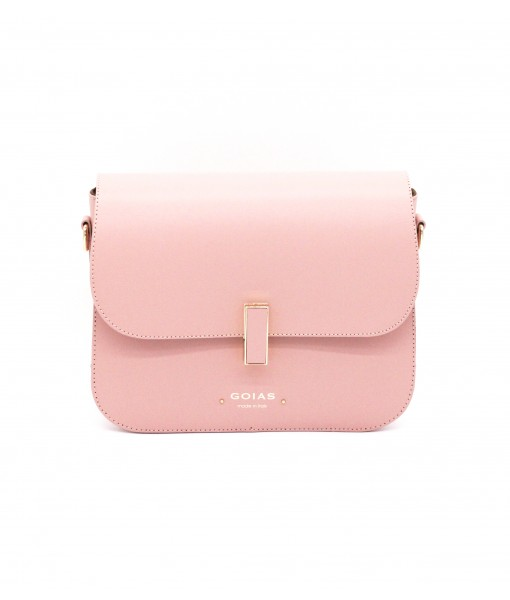 GOIAS Box Bag in Ruga leather(Dusty Pink)
