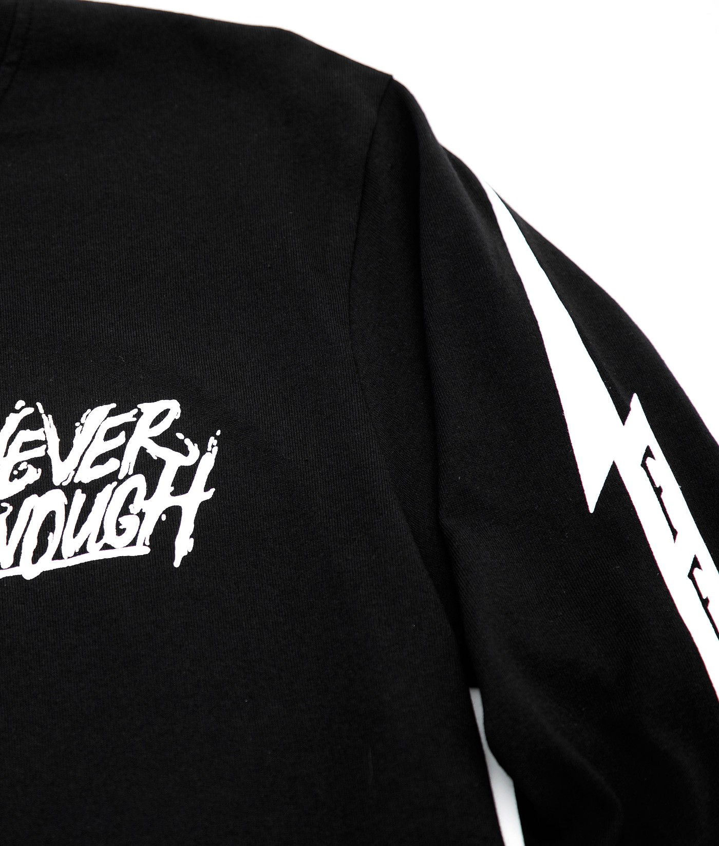 FEAR NEVER ENOUGH GRAPHIC TEE (BLACK)