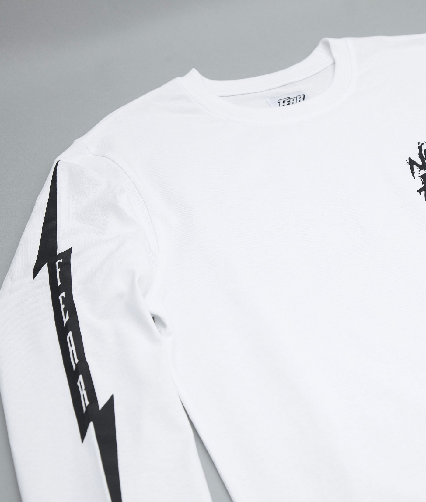 FEAR NEVER ENOUGH GRAPHIC TEE (WHITE)