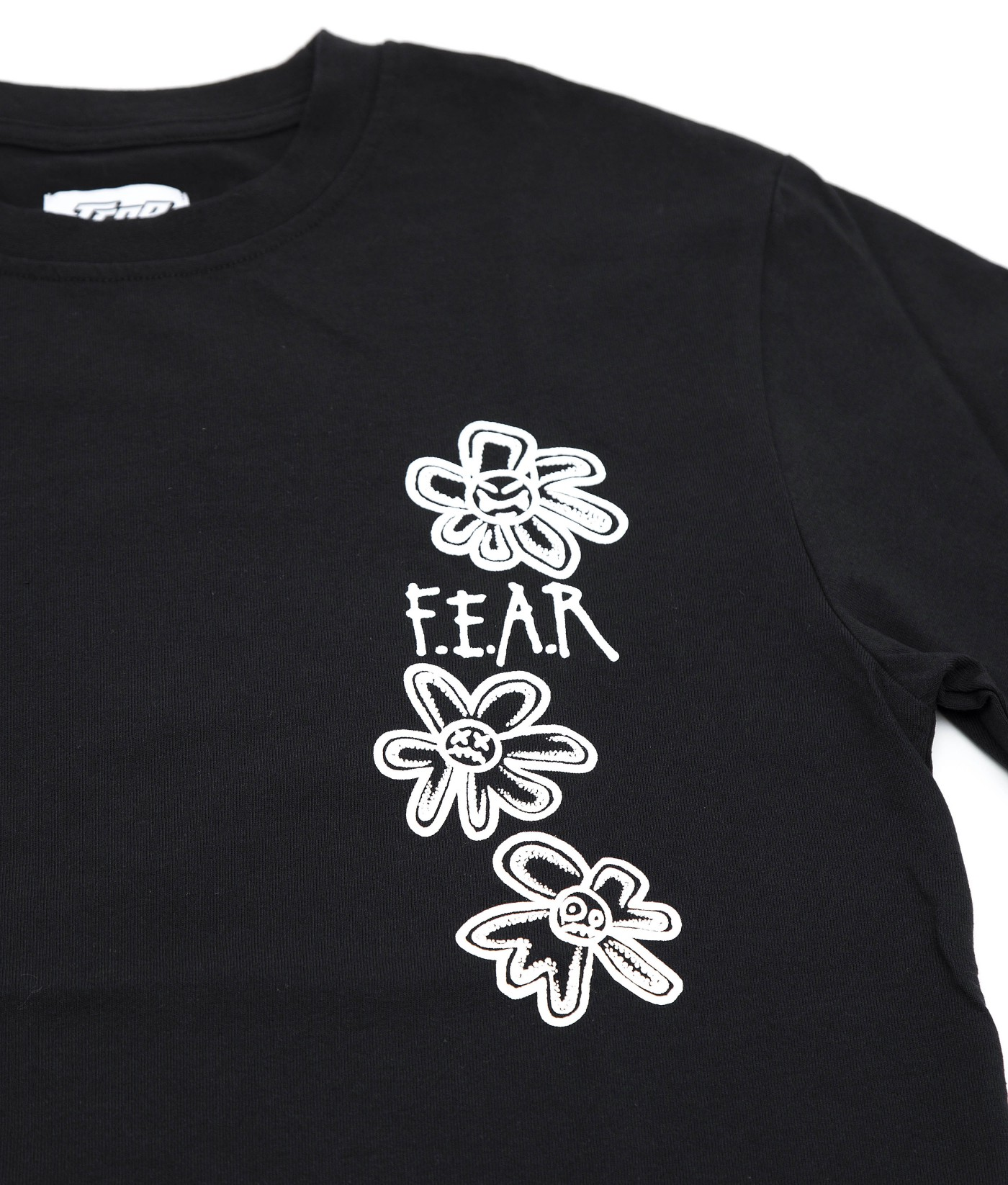 FEAR WHAT GOES AROUND COMES AROUND GRAPHIC LONG SLEEVES (BLACK)